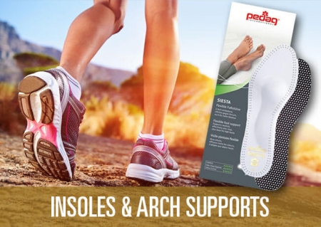Insoles and Arch Supports